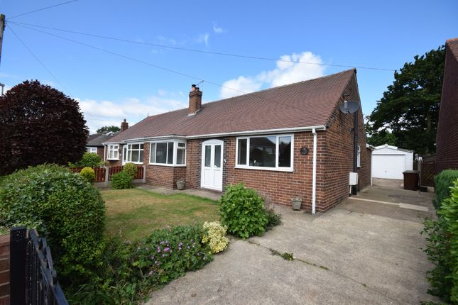 Thumbnail Semi-detached bungalow for sale in Oakwell Avenue, Pontefract
