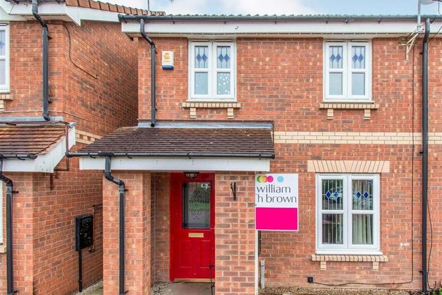 2 bed semi-detached house to rent in Willow Grove, Harworth, Doncaster DN11