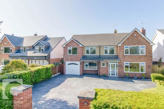 Thumbnail Detached house for sale in Neston Road, Thornton Hough, Wirral, Merseyside