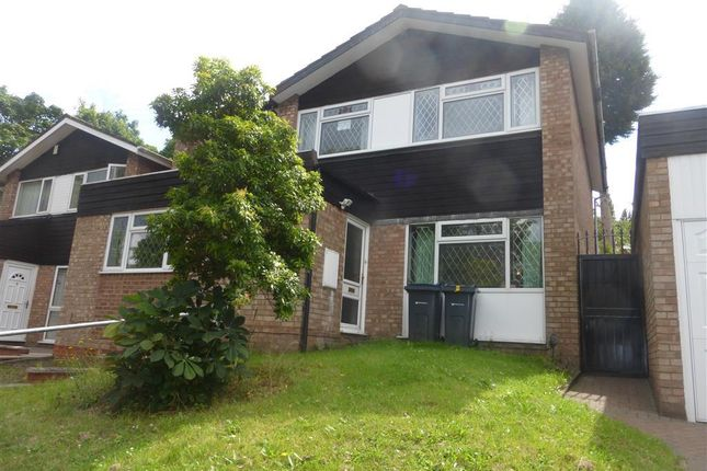 Thumbnail Detached house to rent in Manway Close, Handsworth Wood, Birmingham