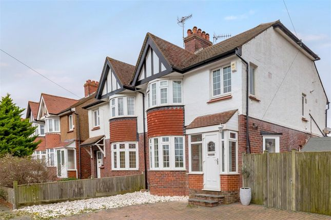3 bed semi-detached house for sale in Cranmer Avenue, Hove, East Sussex BN3