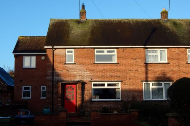 Thumbnail End terrace house to rent in The Gardens, Holt, Wrexham