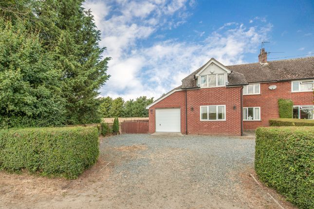 Thumbnail Semi-detached house for sale in Hinderclay Road, Wattisfield, Diss