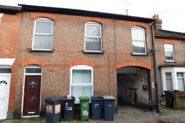 Thumbnail Maisonette to rent in Russell Street, Luton, Beds