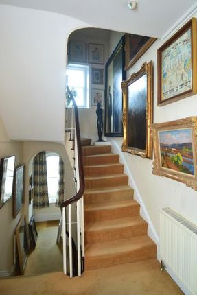 Stairs of Hampstead Lane, Highgate Village, London N6