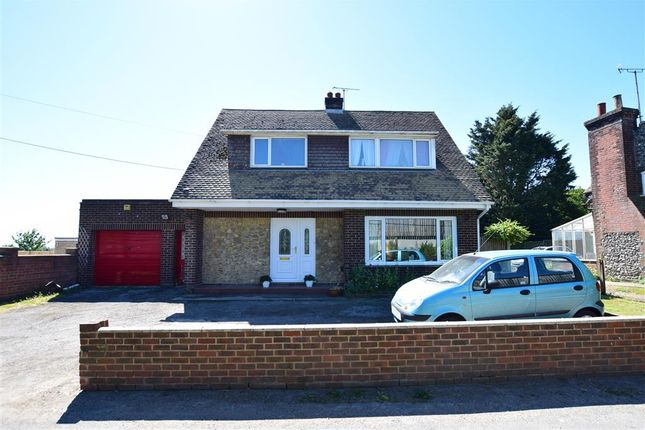 Thumbnail Bungalow for sale in East Langdon Road, Guston, Dover, Kent