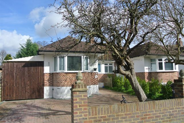 Thumbnail Bungalow for sale in Elm Close, Horsell, Woking