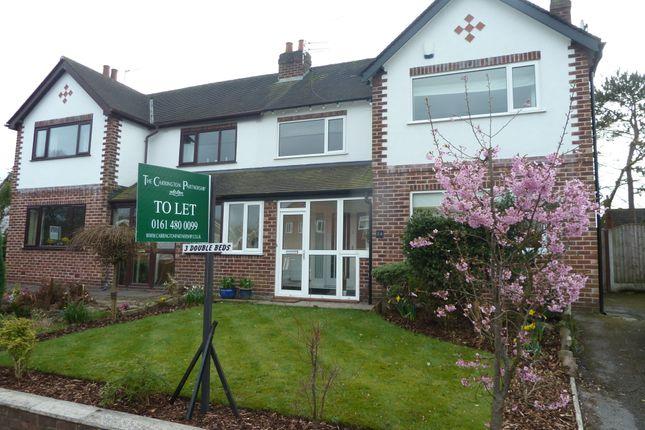 Thumbnail Semi-detached house to rent in Brinkburn Road, Hazel Grove, Stockport