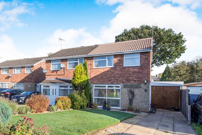 Thumbnail Semi-detached house for sale in Rosamund Avenue, Braunstone Town, Leicester
