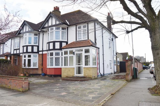 Thumbnail Semi-detached house for sale in Ashlyn Grove, Hornchurch