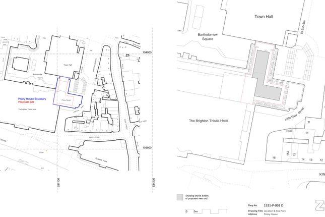 Thumbnail Land for sale in Bartholomew Square, Brighton