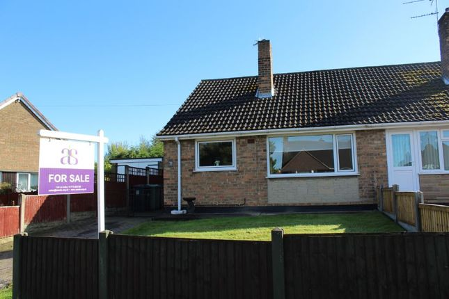 Thumbnail Bungalow for sale in Station Road, North Wingfield, Chesterfield