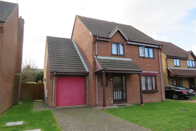 Thumbnail Detached house for sale in Browning Avenue, Kettering