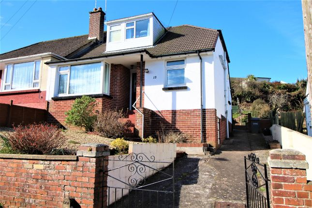 Thumbnail Semi-detached bungalow for sale in Clifton Crescent, Paignton