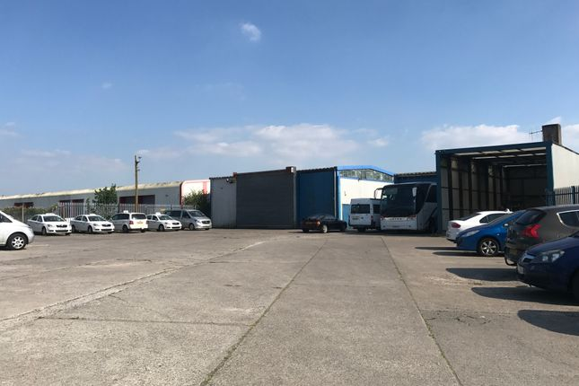 Thumbnail Light industrial for sale in Industrial/Workshop/Garage Unit With Concrete Surfaced Yard, North Road, Bridgend