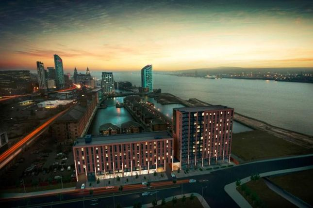 Thumbnail Flat for sale in Princes Dock, Liverpool