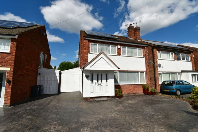 Thumbnail Link-detached house for sale in Peverell Drive, Hall Green, Birmingham