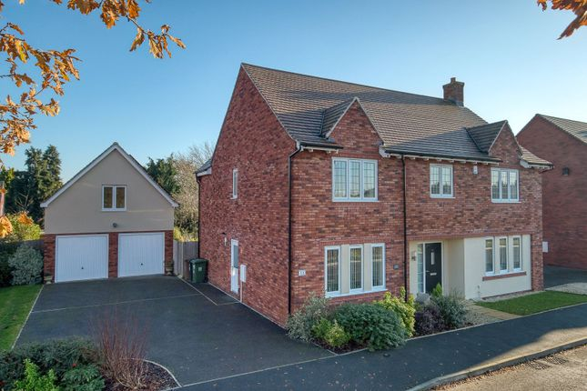 Thumbnail Detached house for sale in Dowling Drive, Pershore, Worcestershire