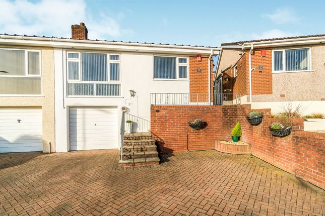 Thumbnail Semi-detached bungalow for sale in Longacre, Plympton, Plymouth