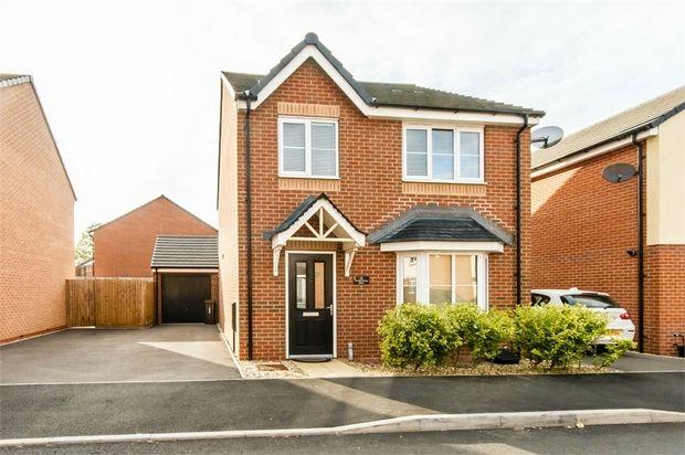 Thumbnail Detached house for sale in Wards Bridge Drive, Wednesfield, Wolverhampton, West Midlands