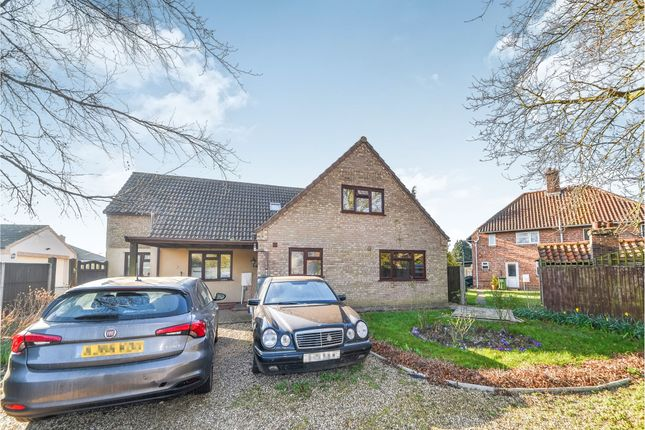 Thumbnail Detached house for sale in Low Road, South Wootton, King's Lynn