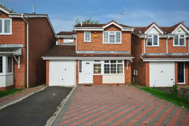 Thumbnail Detached house for sale in Cooper Gardens, Oadby, Leicester