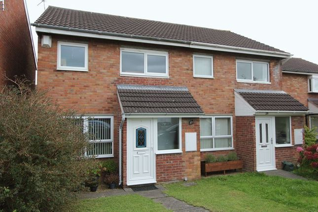 Thumbnail Semi-detached house for sale in Monmouth Way, Boverton, Llantwit Major