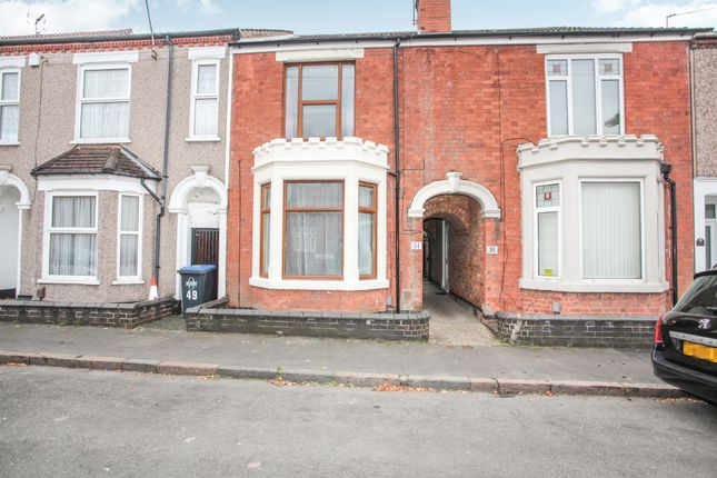 3 bed terraced house for sale in Stephen Street, Rugby