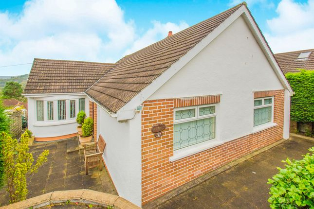 Thumbnail Detached bungalow for sale in Highfield Road, Pontllanfraith, Blackwood