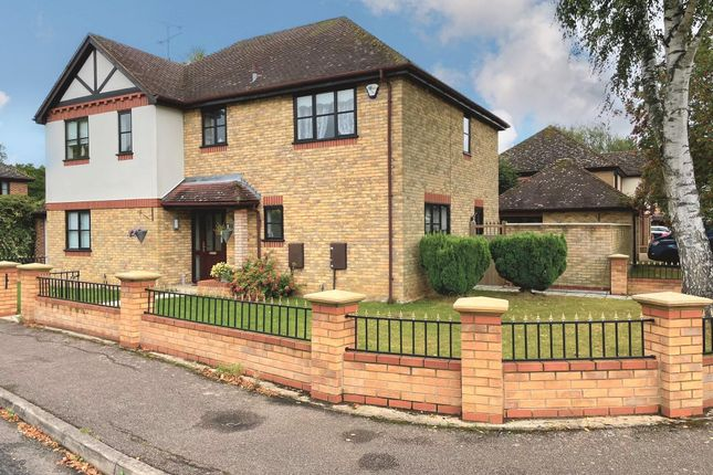 Thumbnail Detached house for sale in Woodcote Park, Wisbech