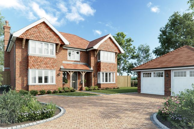 Thumbnail Detached house for sale in Plot 4, Little Paddock, Goddards Lane, Sherfield On Loddon