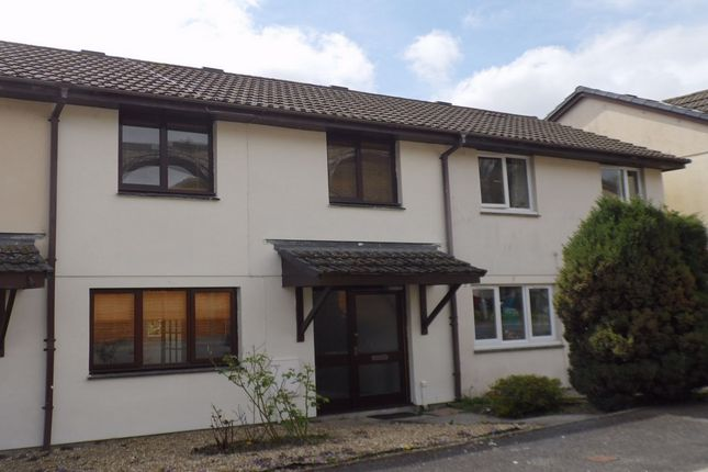 Thumbnail Terraced house to rent in Watersedge Close, St Austell, Cornwall