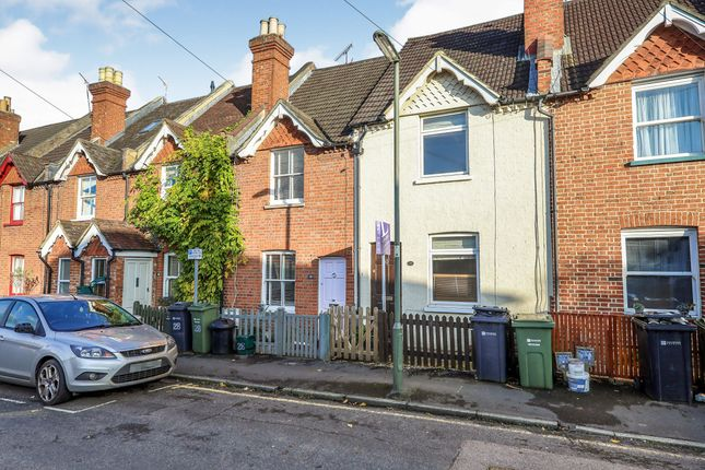 Thumbnail Terraced house to rent in Falcon Road, Guildford