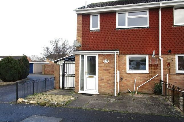 Thumbnail End terrace house to rent in Charlton Close, Bournemouth