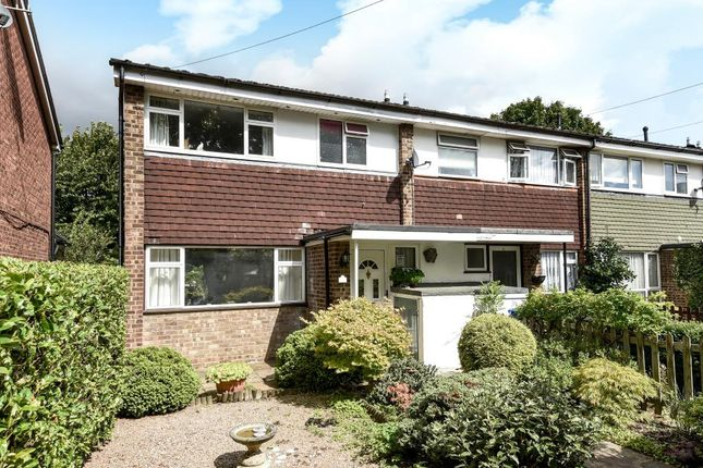 Thumbnail End terrace house for sale in Furrow Way, Maidenhead