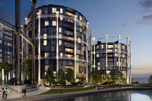 Thumbnail Flat for sale in Gasholders, 1 Lewis Cubitt Square, Kings Cross, London