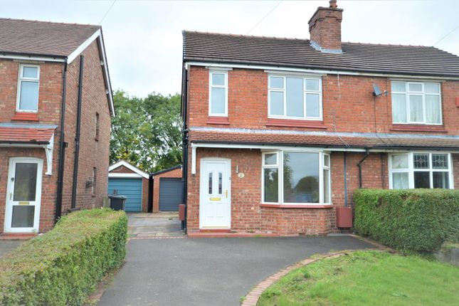 Thumbnail Semi-detached house to rent in Macclesfield Road, Holmes Chapel, Crewe