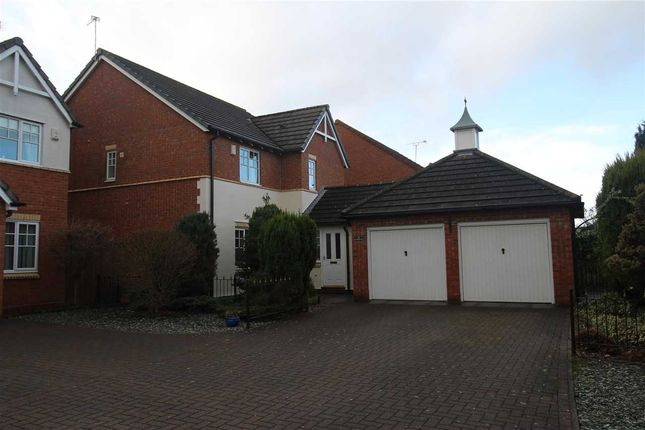 Thumbnail Detached house for sale in Goldthorpe Close, Northburn Manor, Cramlington
