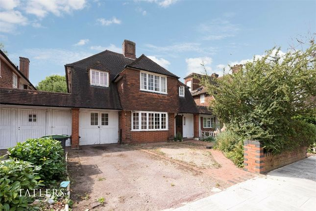 Thumbnail Link-detached house for sale in Twyford Avenue, Ringwood Estate, London