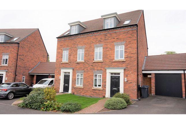 Thumbnail Semi-detached house for sale in Perrott Way, Edgbaston, Birmingham