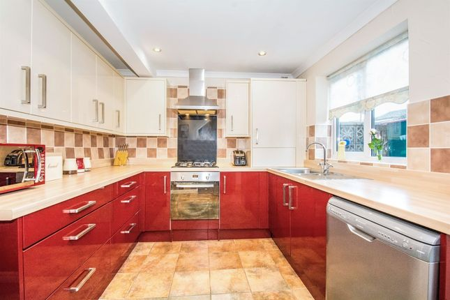 Thumbnail Link-detached house for sale in Runcorn Close, St. Mellons, Cardiff