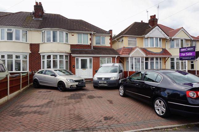 Thumbnail Semi-detached house for sale in Elm Avenue, Wolverhampton