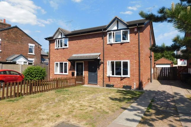 Thumbnail Semi-detached house for sale in Chamberlain Court, Haslington, Crewe