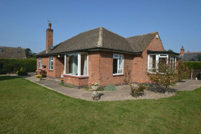 Thumbnail Detached bungalow for sale in Willoughby Road, Countesthorpe, Leicester