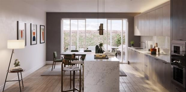 Thumbnail Town house for sale in Oakley Gardens, Childs Hill, London