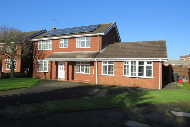 Thumbnail Detached house for sale in Plover Avenue, Darnhall, Winsford