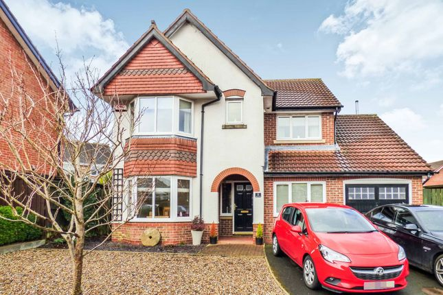 Thumbnail Detached house for sale in Longleat Gardens, Pegswood, Morpeth