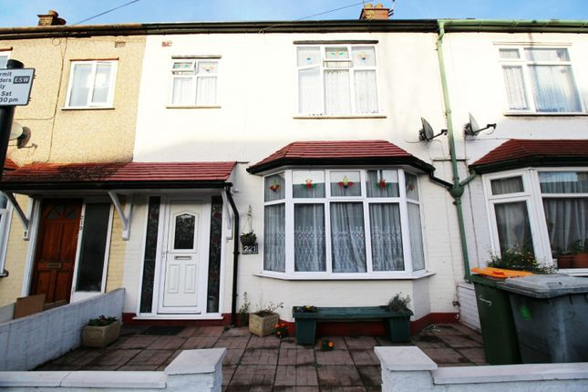 Thumbnail Terraced house for sale in Lonsdale Avenue, East Ham, Greater London