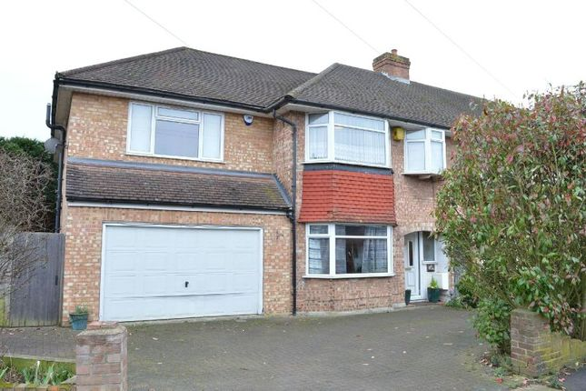 Thumbnail End terrace house for sale in Sussex Gardens, Chessington