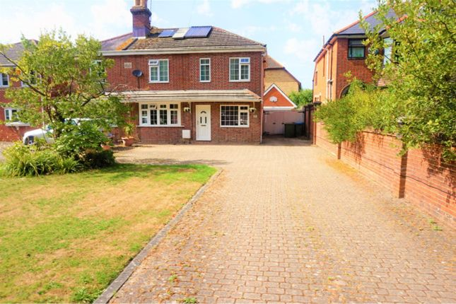 Thumbnail Semi-detached house for sale in Burgess Road Bassett, Southampton